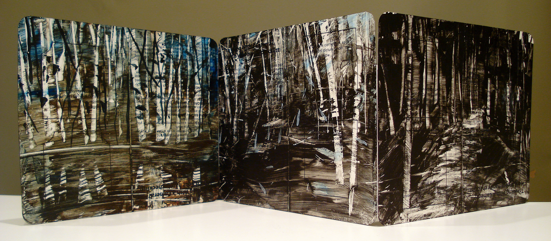 Anastasi Endless Forest 3 panel JohnRTomayko