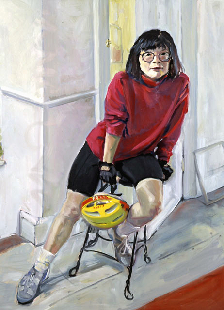 Bicyclist-48x36-private collection
