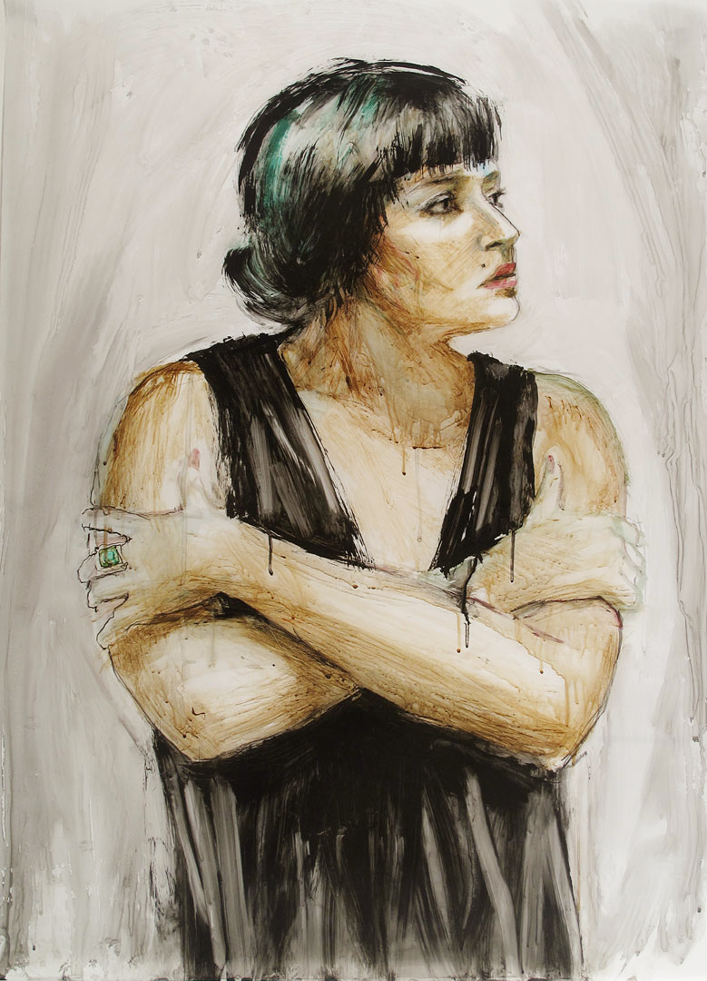 EL-as-DorothyParker-40x30
